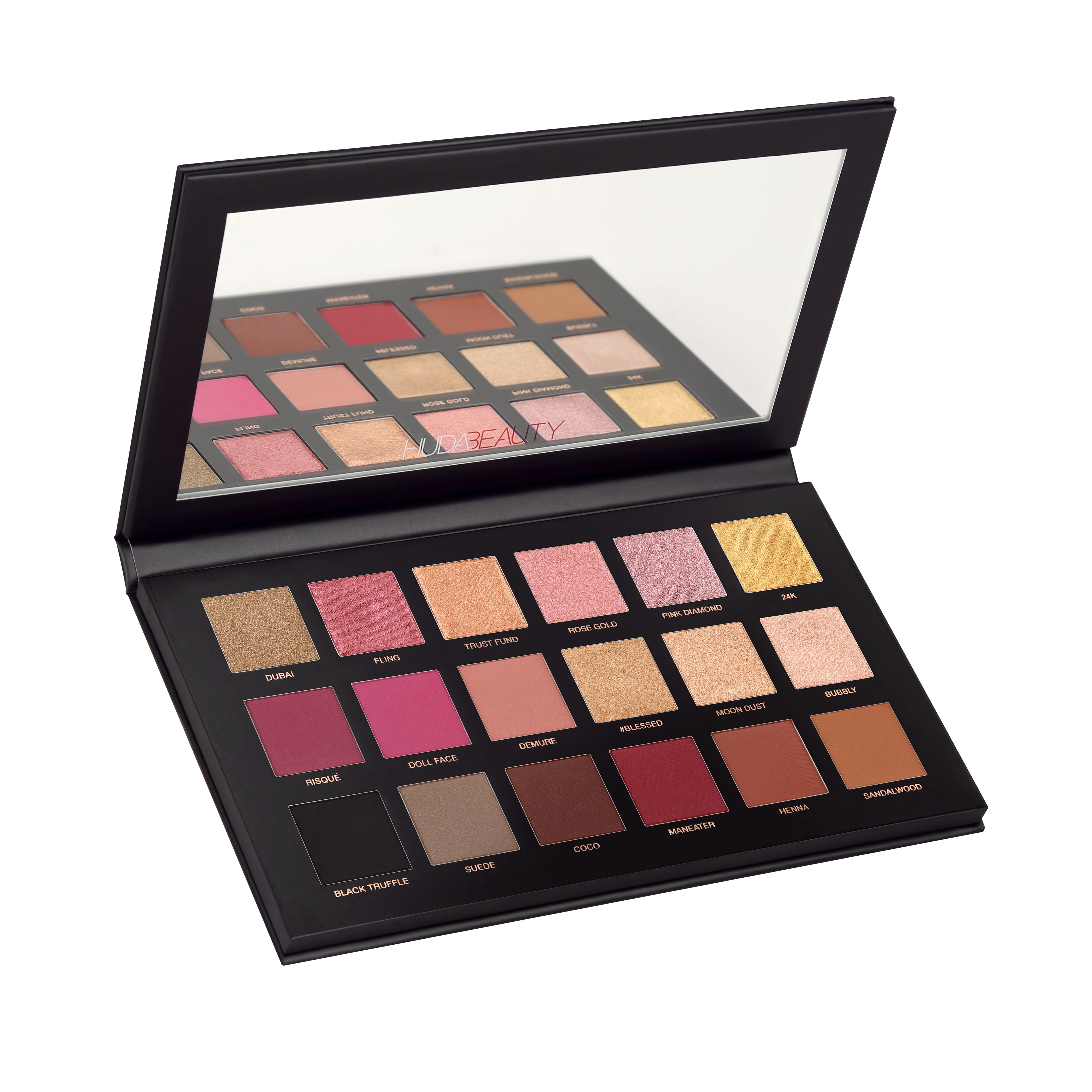 Huda Beauty Rose Gold Palette Eyeshadow Remastered - Shop Now