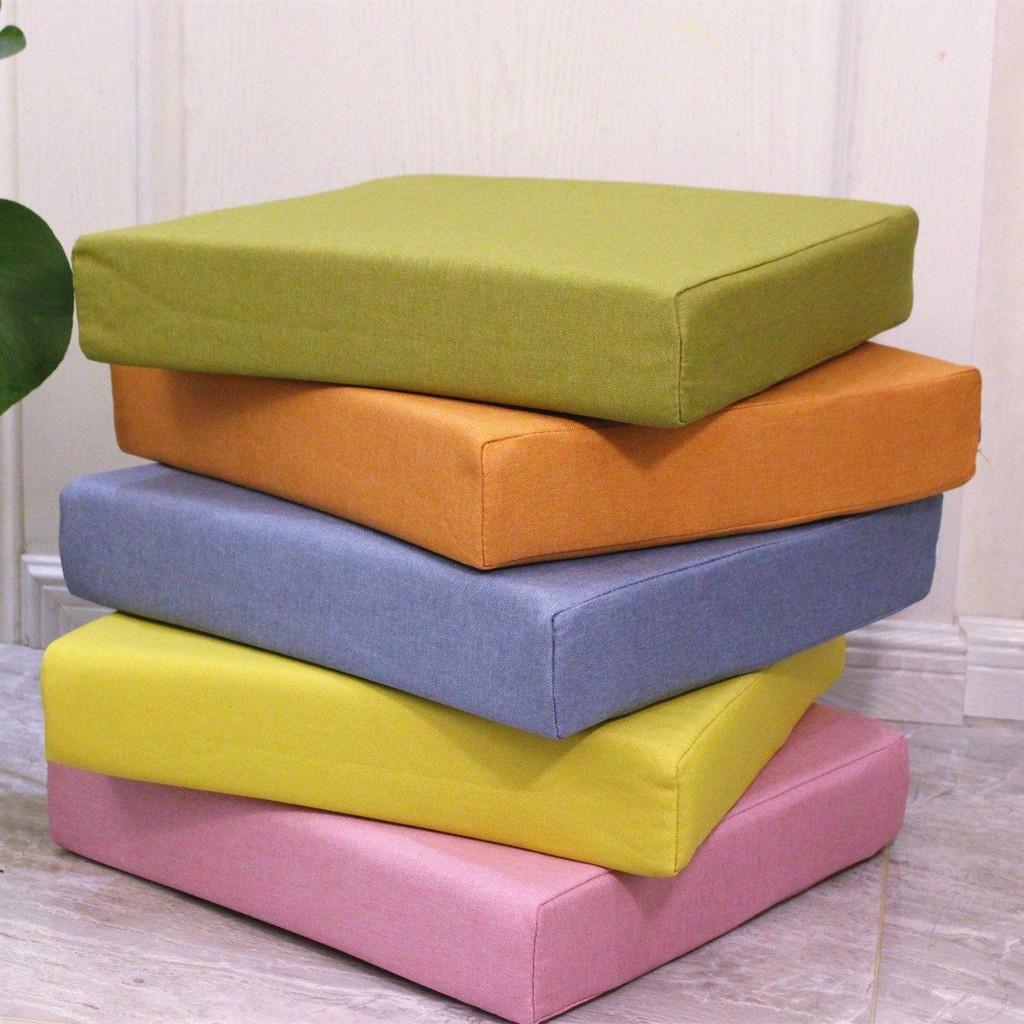 坐墊屁墊屁股坐墊椅子墊加厚海綿沙發墊沙發坐墊亞麻布定制可拆洗