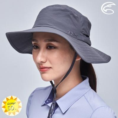 ADISI 抗UV透氣快乾撥水大盤帽 AH21003 (M-L) / 深灰