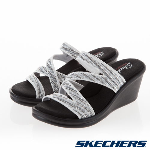 SKECHERS 女 休閒系列 涼拖鞋 RUMBLERS - 32925WSL