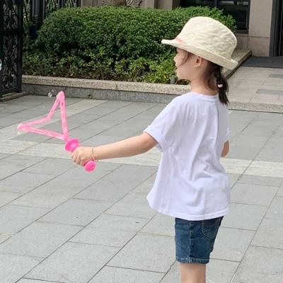 Lee 童裝-LOVE傘狀短袖圓領TEE-白色