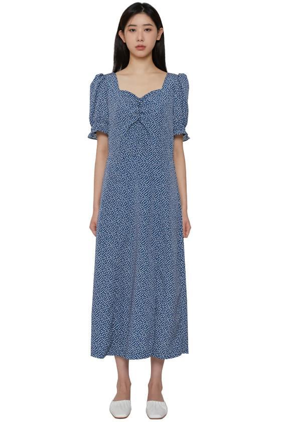 韓國空運 - Viola floral long dress 長洋裝