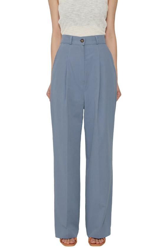 韓國空運 - Formal Cotton Wide Slacks 長褲