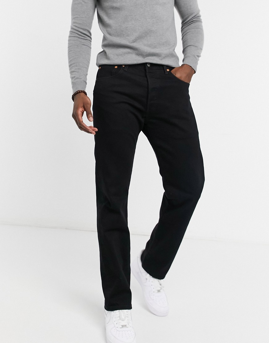 Levi's 501 '93 straight jeans in black punk