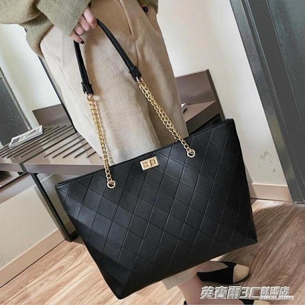 托特包 包包女包新款2020網紅手提包女大包大容量單肩包時尚高級感托特包ATF 伊衫風尚
