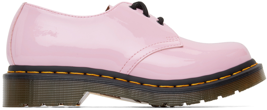 Dr. Martens 粉色 1461 Hearts 牛津鞋