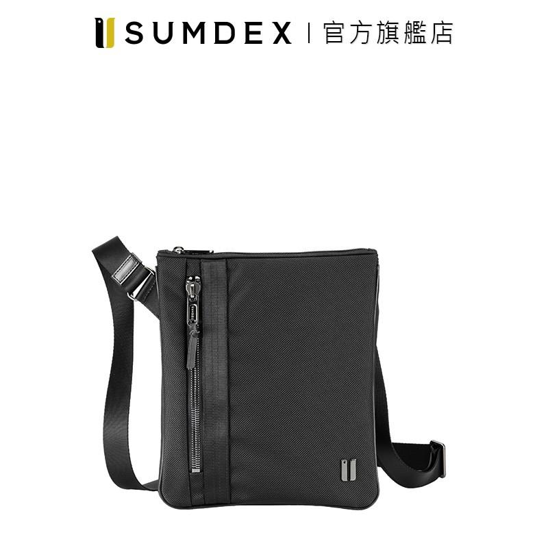 Sumdex|都經典扁形隨行包 HDA-266JB 黑色 官方旗艦店