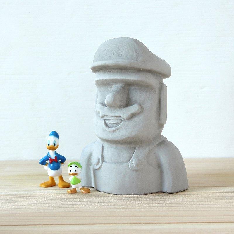 水泥摩艾 Moai-摩艾船長 領袖 導師 leader