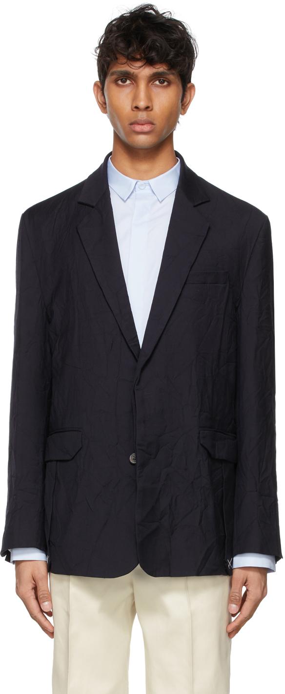 ADER error 黑色 Blang 羊毛西装外套