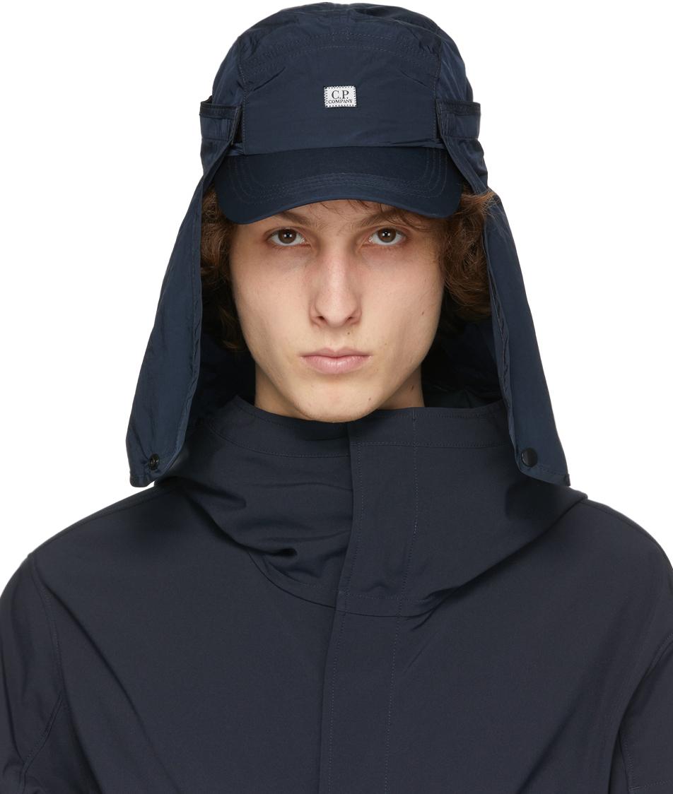 C.P. Company 海军蓝 Chrome-R 遮阳棒球帽