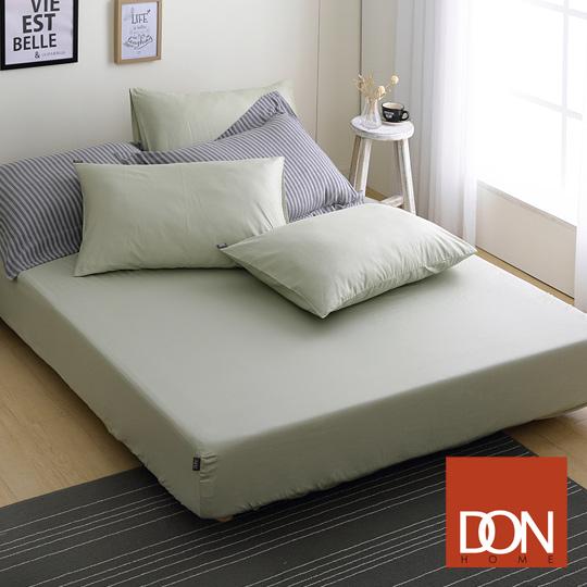 單人 / 200織精梳純棉床包枕套二件組 / 森林綠-極簡生活 / 網路限定 / DON