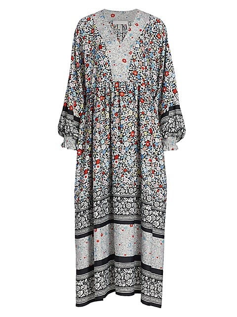 Janis Floral Patchwork Dress