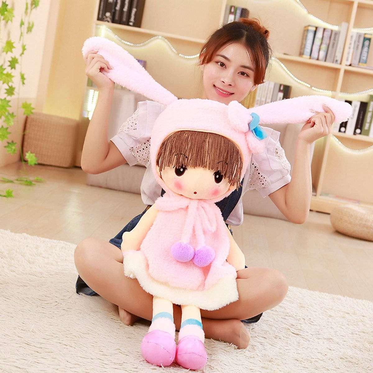 秒殺新貨小女孩布藝雪萌女寶寶公仔毛絨玩具洋娃娃玩偶公主幼兒童禮物品328