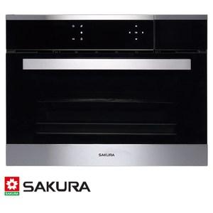 櫻花 SAKURA 嵌入式蒸烤箱 58L E8692 蒸煮+燒烤 專業多元複合功能