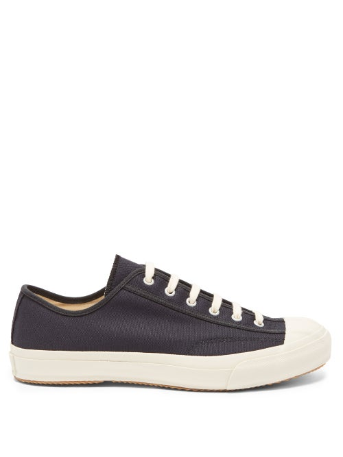 Moonstar - Gym Classic Canvas Trainers - Womens - Navy