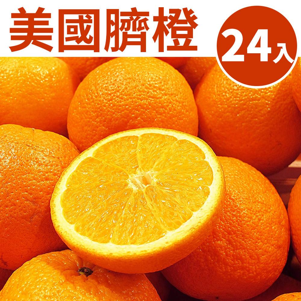 [甜露露]美國臍橙24入(9斤±10%)
