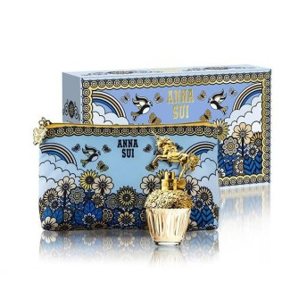 ANNA SUI 獨角獸童話禮盒 (淡香水30ml+愛情鳥化妝包)【SP嚴選家】