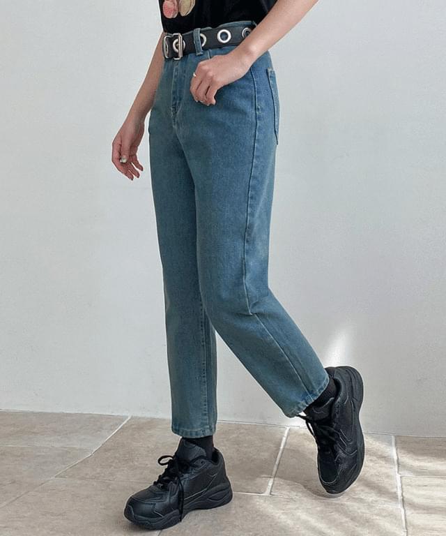 韓國空運 - Ellix Boyfit Denim Pants 牛仔褲