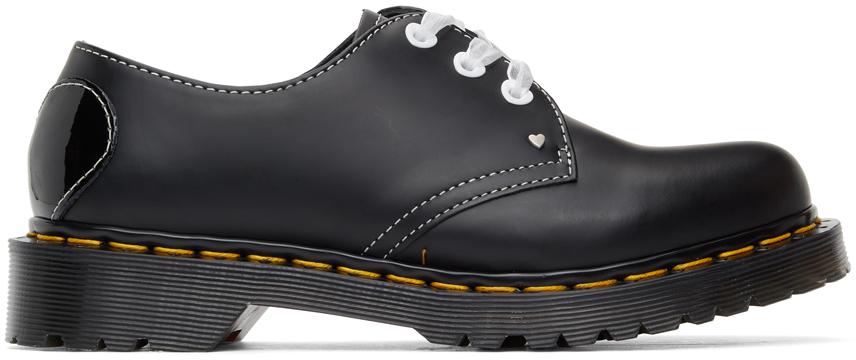 Dr. Martens 黑色 1461 Hearts 牛津鞋
