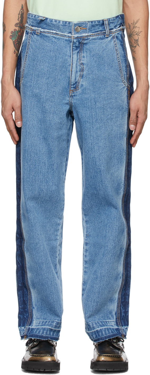 ADER error 蓝色 Workch 牛仔裤