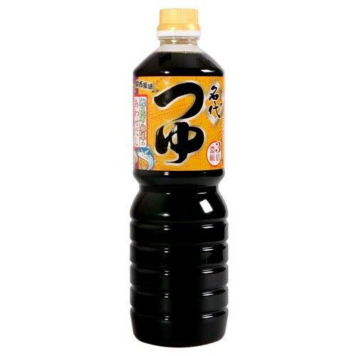 【江戶物語】 Yamamori 名代3倍濃縮麵味露 1公升 1000ml 醬油 湯底調味 火鍋料理 日本進口