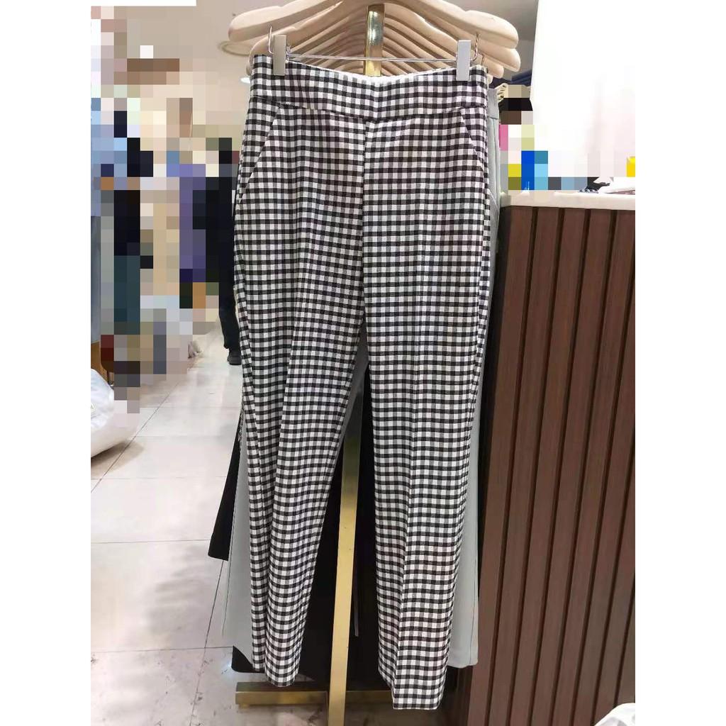 格紋長褲 OB-30667 #格紋 #長褲