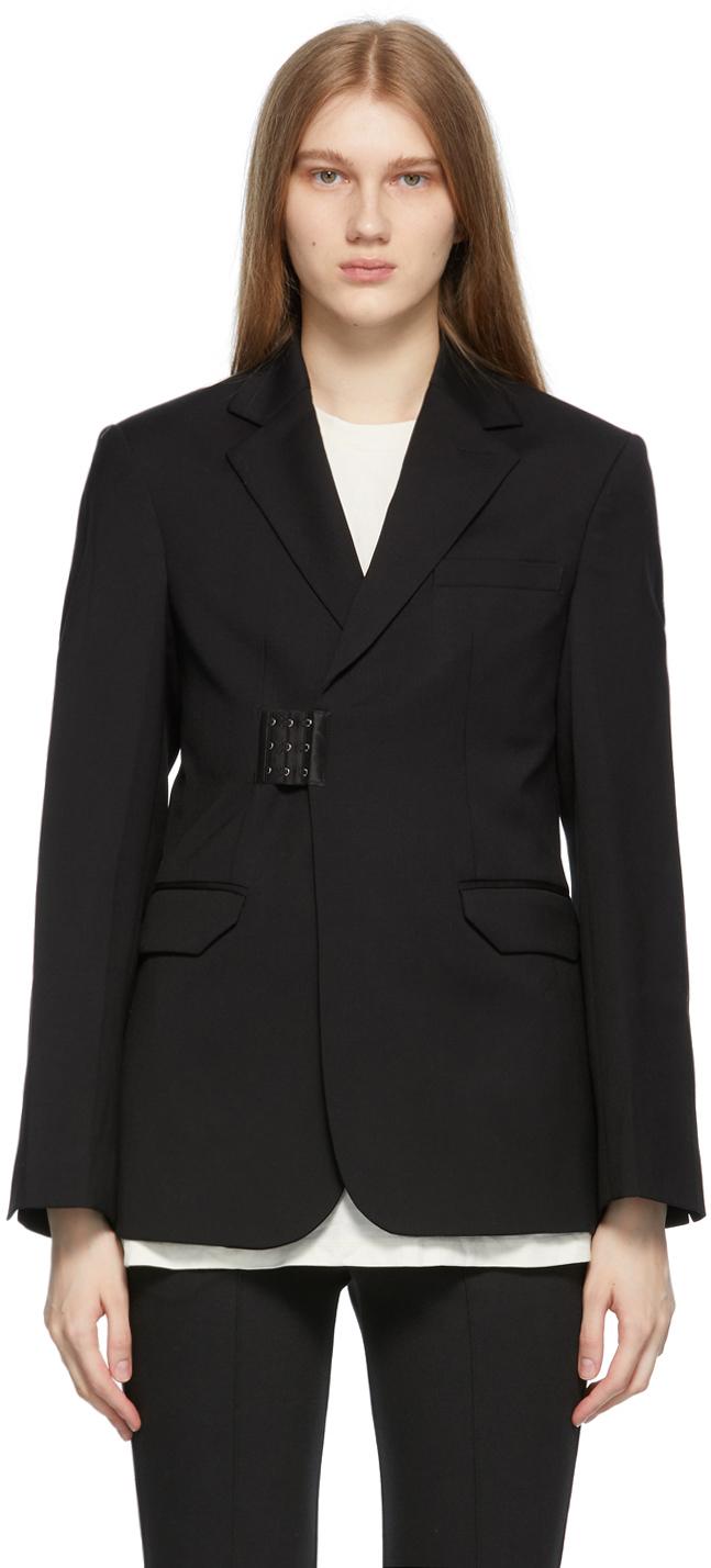 ADER error 黑色 Blook 西装外套