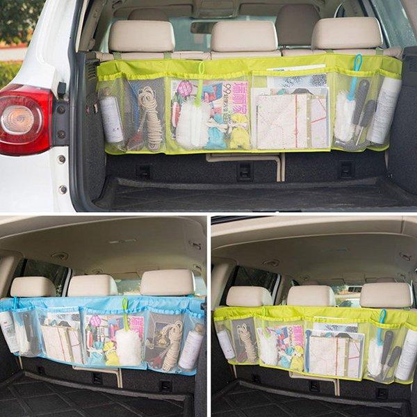 車用大容量可掛式收納袋