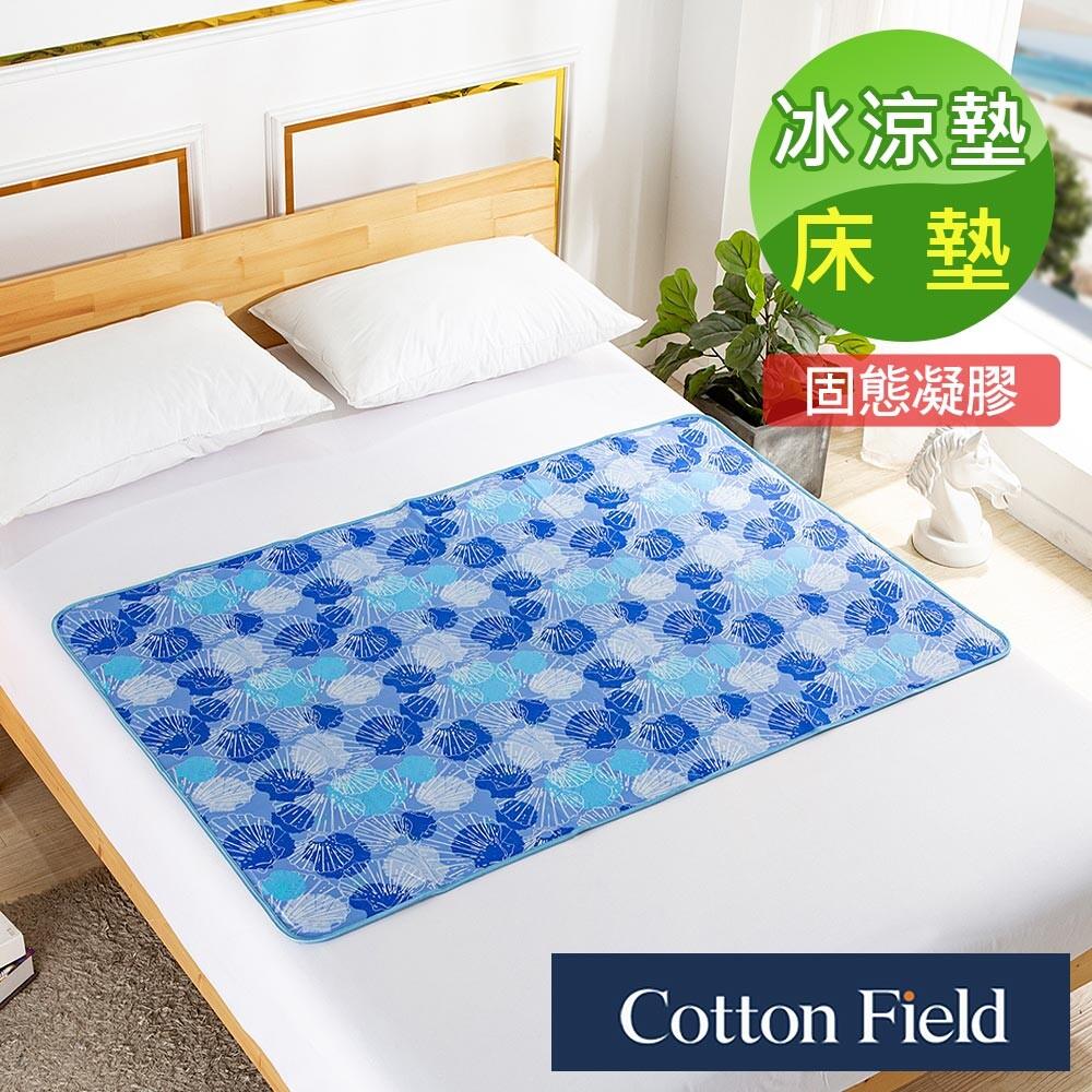 促銷棉花田閃耀貝殼3d網低反發冷凝床墊(90x140cm)