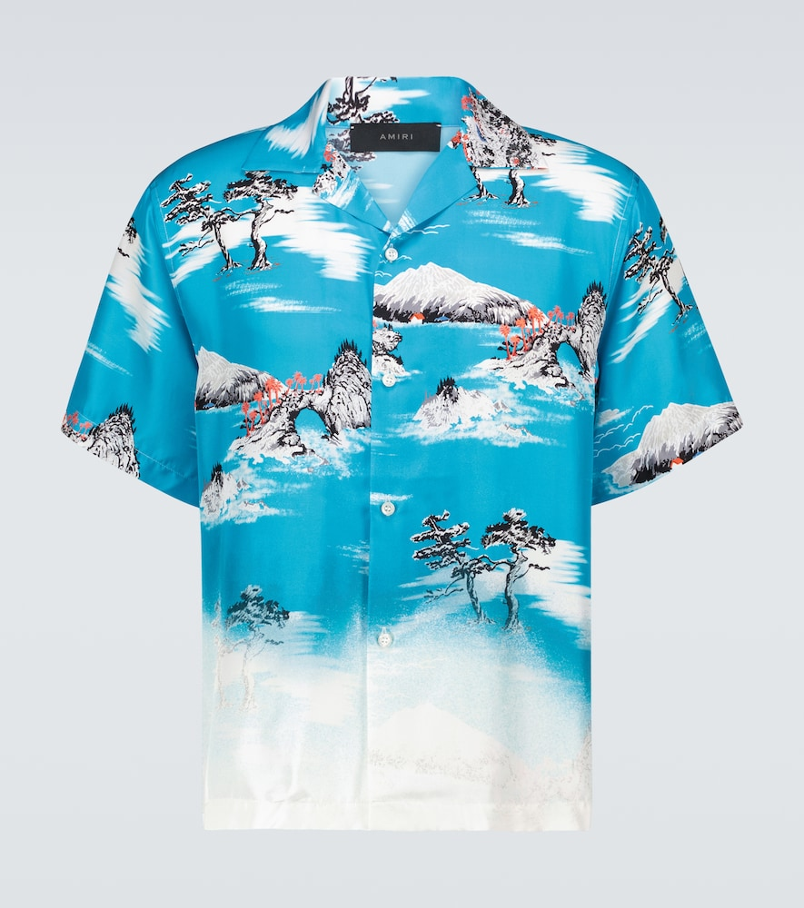 Aloha short-sleeved shirt