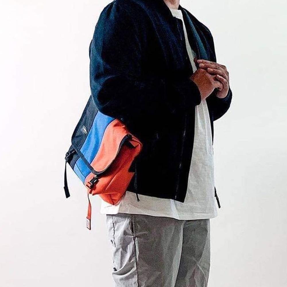 Timbuk2 Classic Messenger 11 吋經典平板郵差包 - 藍橘黑拼色