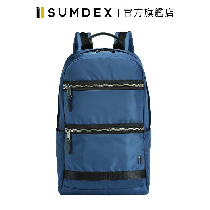 Sumdex|都會輕簡後背包 NON-791BU 藍色 官方旗艦店