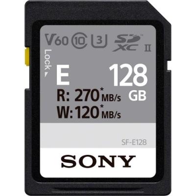 SONY SF-E128/T1 UHS-II V60 U3 128G 記憶卡(公司貨)