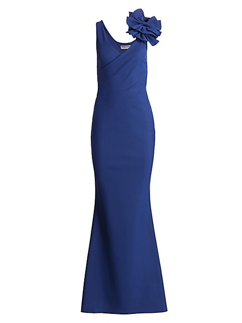 Dorothee Bow Strap Gown