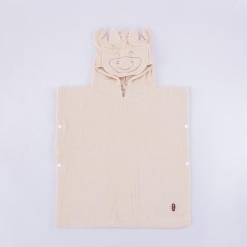 無染哞哞牛造型浴袍