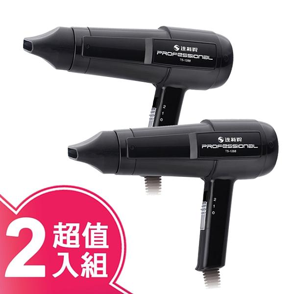 超值2入組【達新】專業吹風機 TS-1288