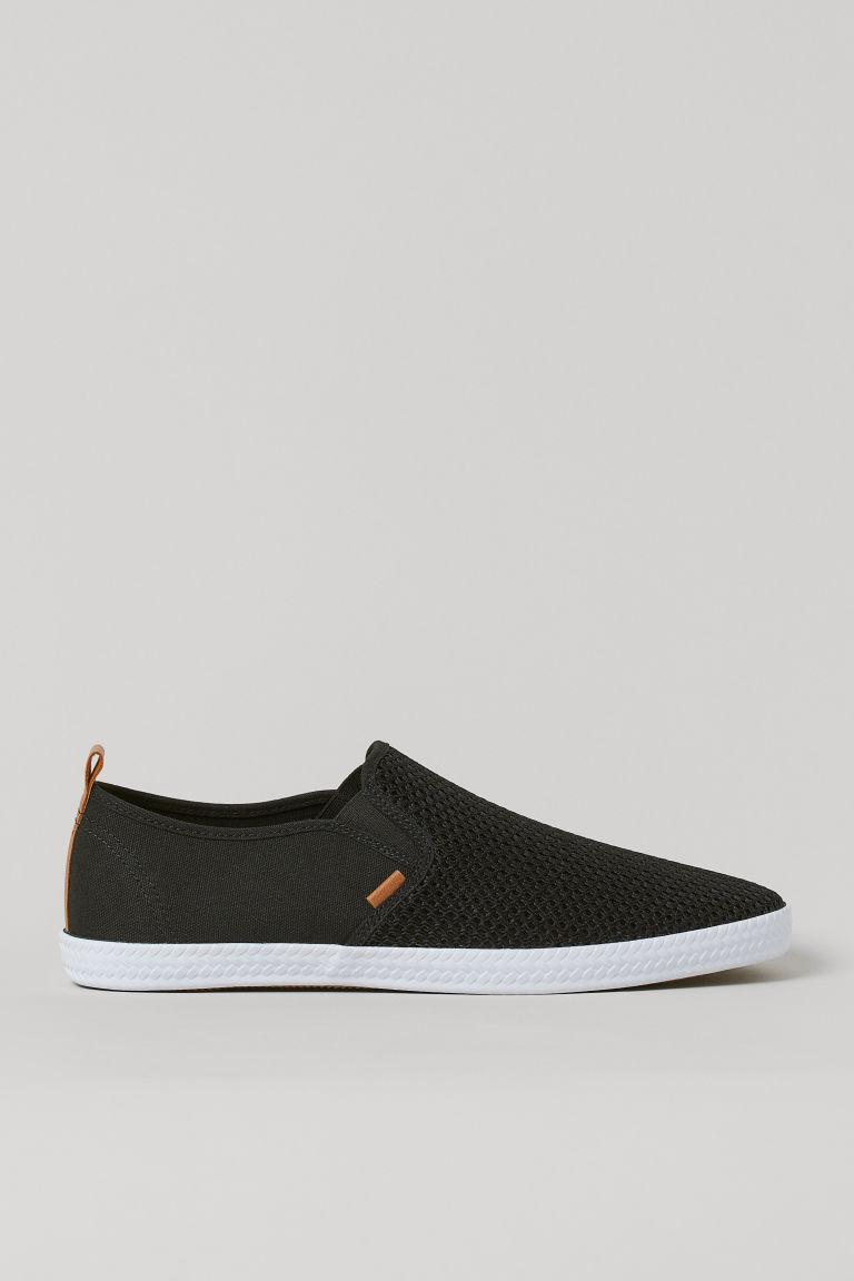 H & M - 懶人鞋 - 黑色