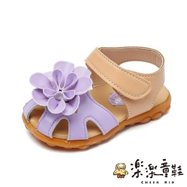可愛花朵涼鞋
