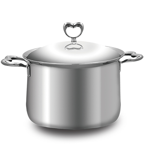 *Balzano 雙耳心形複合金湯鍋(22cm)
