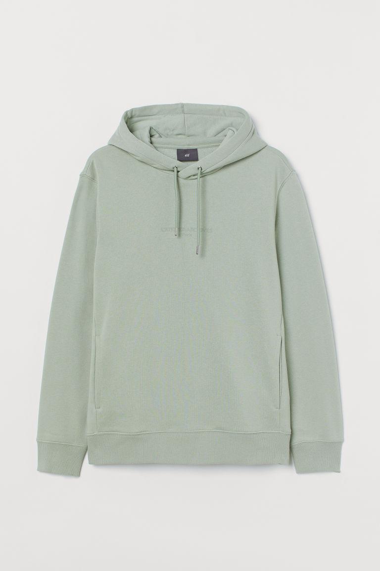 H & M - 連帽上衣 - 綠色