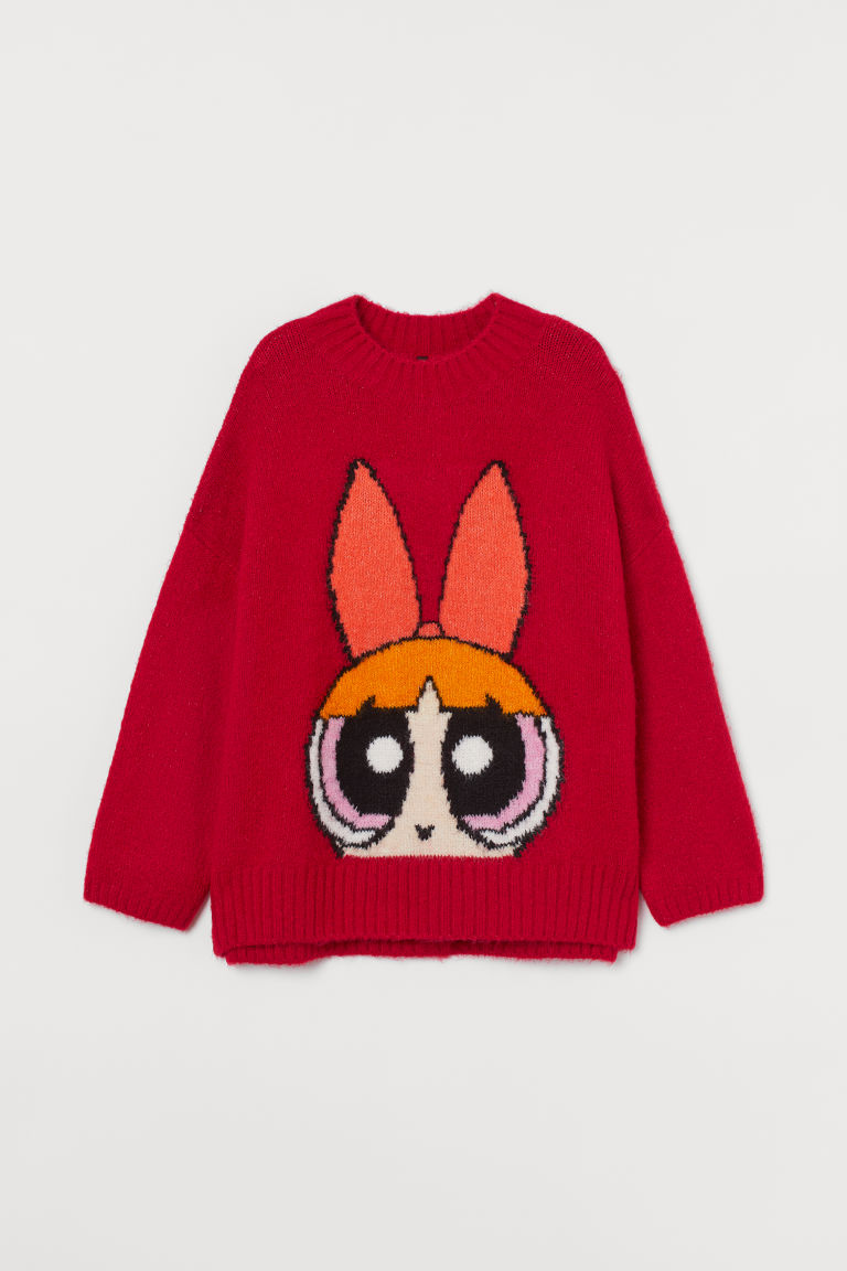 H & M - 加大碼套衫 - 紅色