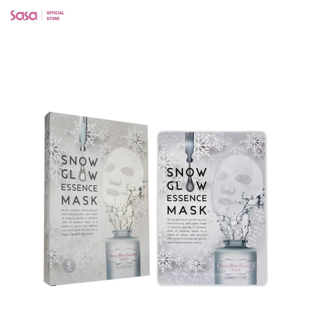 SASATINNIE全效雪亮透光面膜5片(莎莎獨家發售)(40毫升 x 5片)