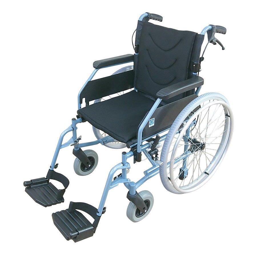 """""""健康之星""""穩得福鋁合金手動輪椅(18吋) 符合補助項目-輪椅BA款"""