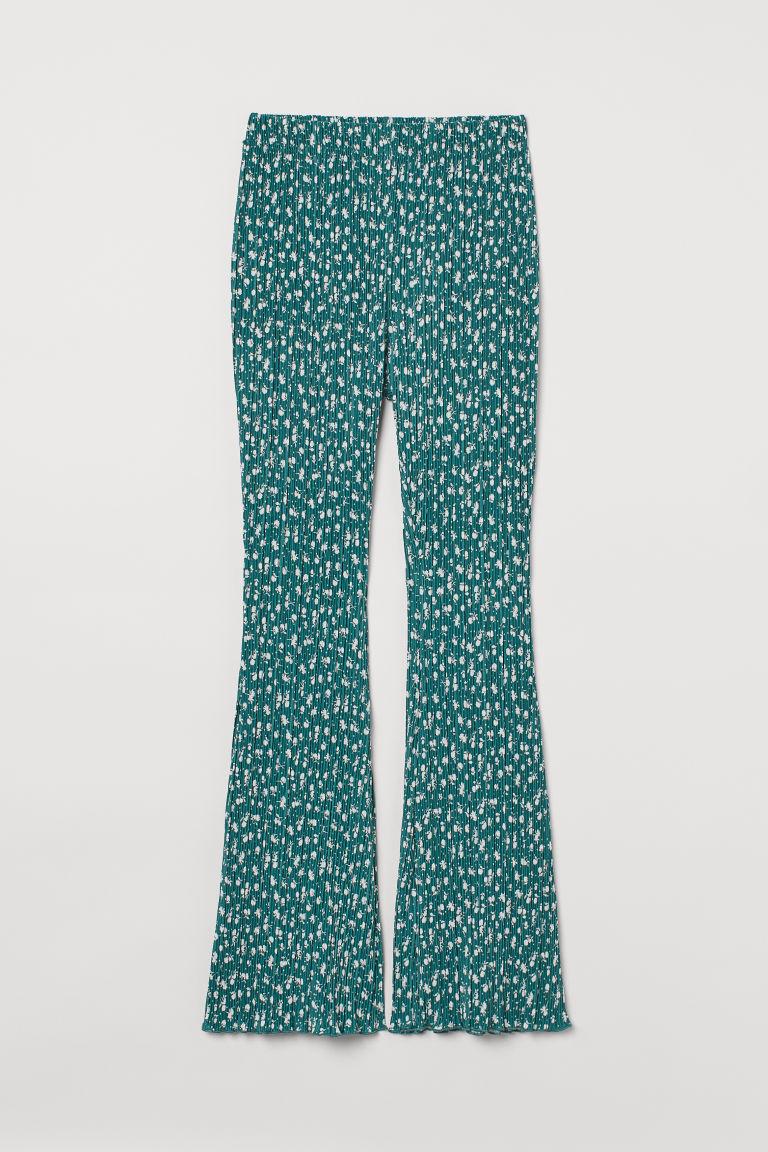 H & M - 百褶爵士褲 - 綠色