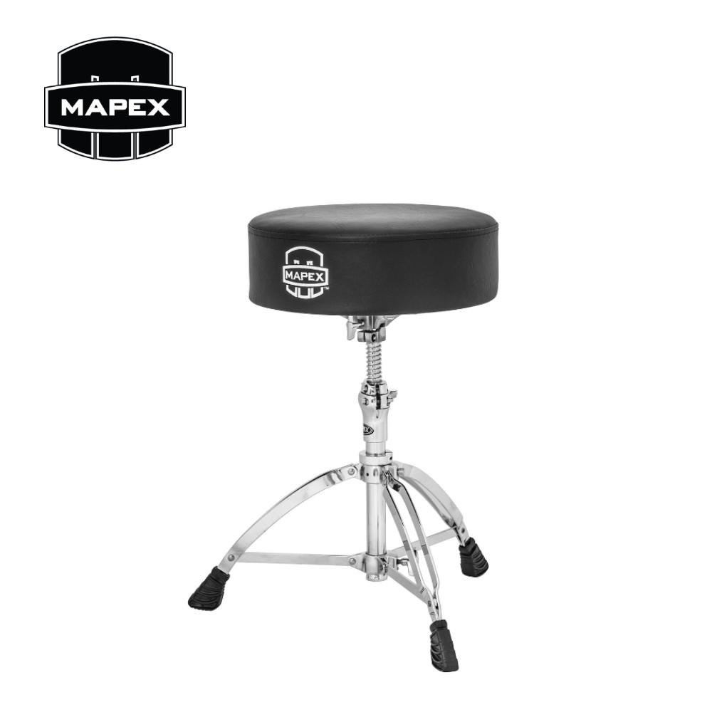 MAPEX T750A 超厚氣墊鼓椅 螺旋調整高度【敦煌樂器】