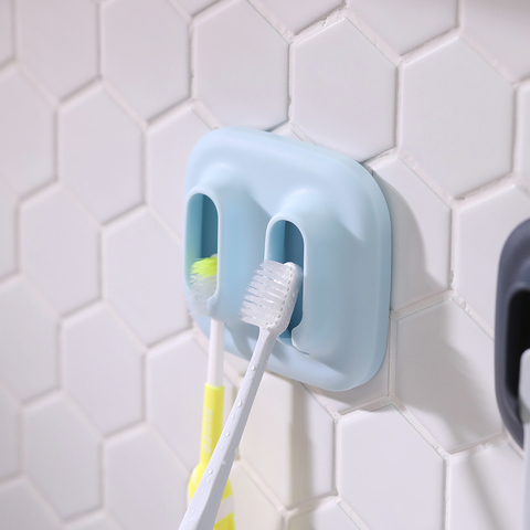 *物鳴牙刷架-淺藍