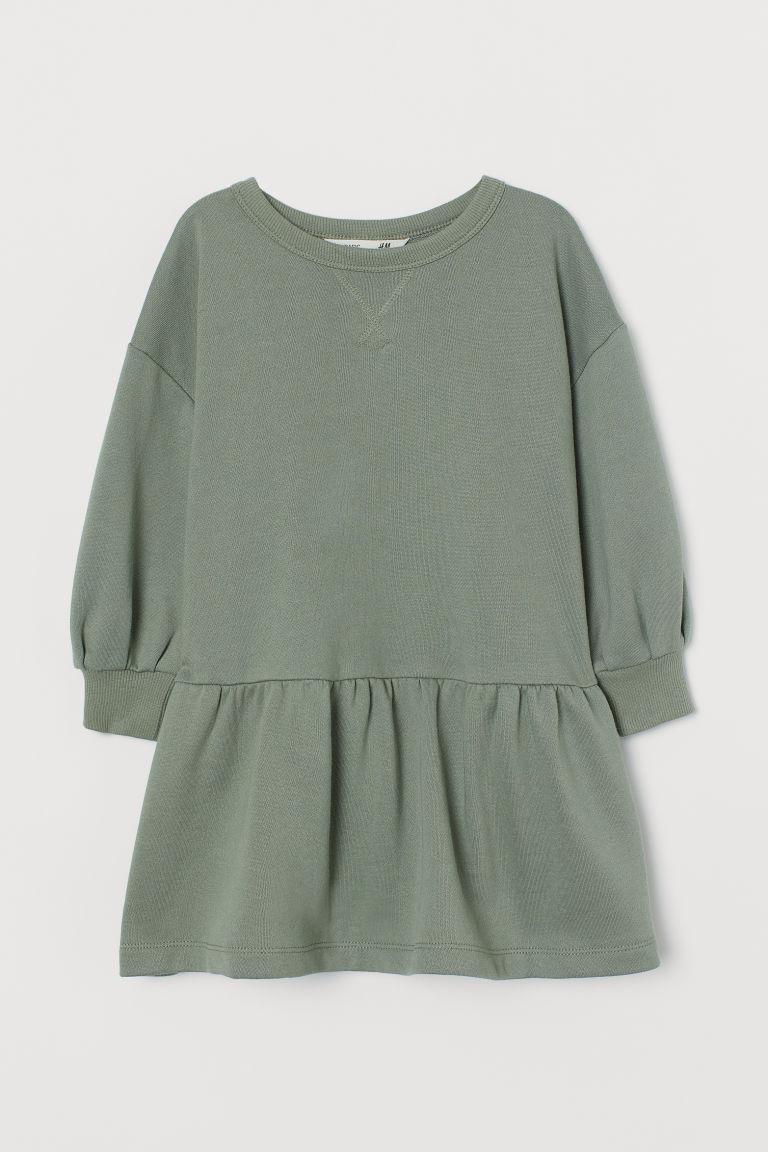 H & M - 運動洋裝 - 綠色
