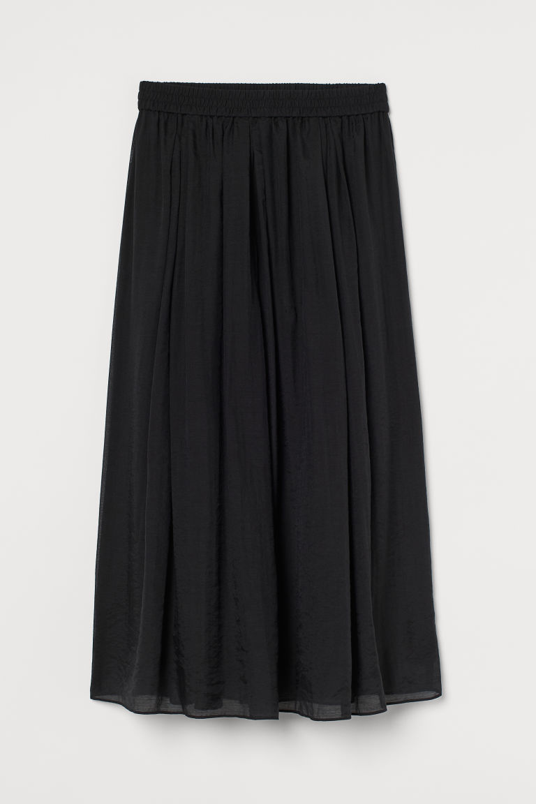 H & M - 圓裙 - 黑色