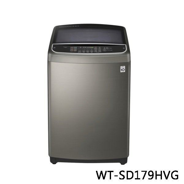 LG 樂金 第3代DD變頻直立式洗衣機 WT-SD179HVG 17公斤 不鏽鋼銀 原廠保固 結帳更優惠 黑皮TIME