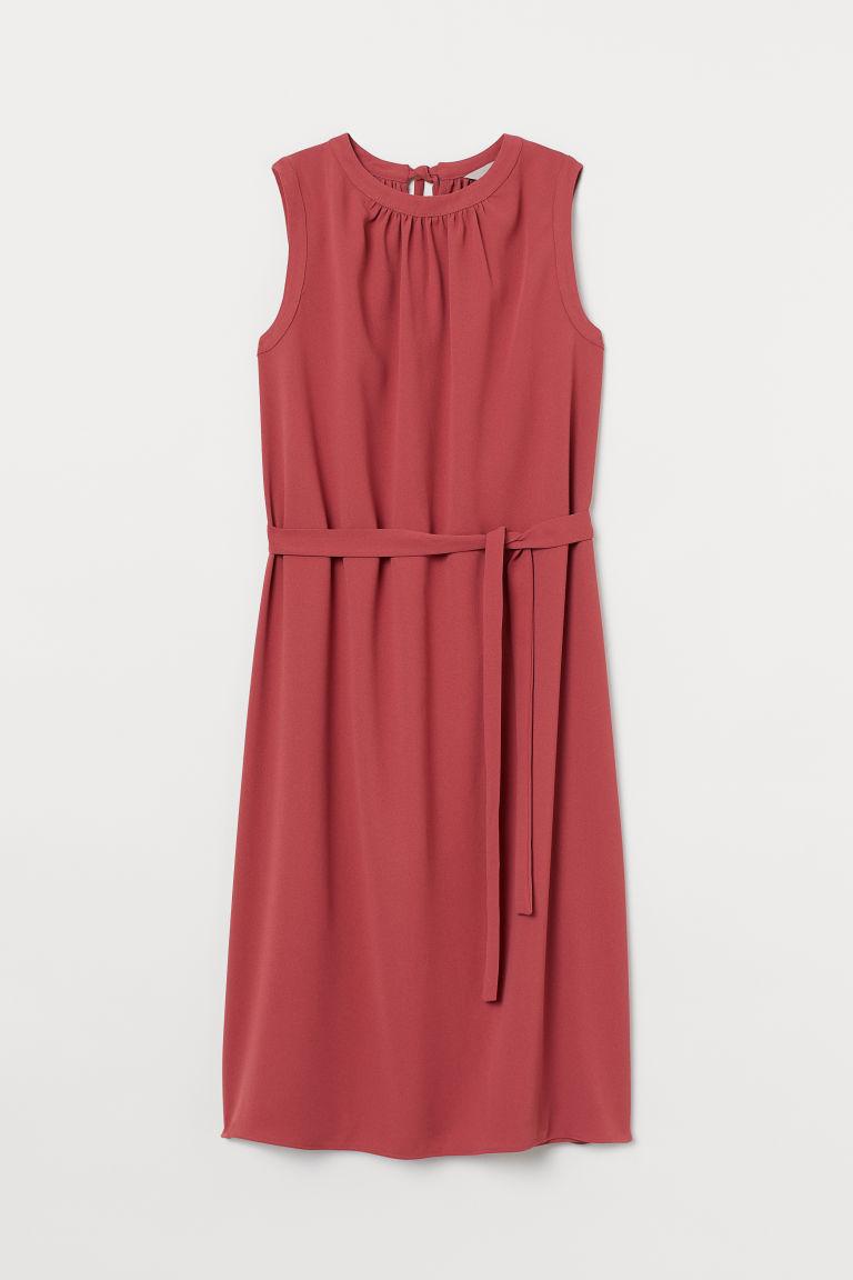 H & M - 結飾洋裝 - 紅色